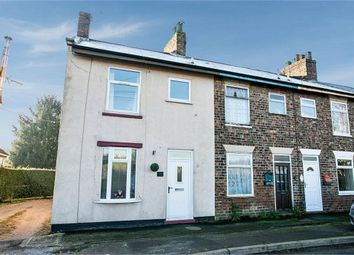 Thumbnail 2 bed end terrace house for sale in New Row, Great Heck, Goole, North Yorkshire
