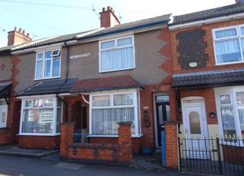 Thumbnail 2 bed terraced house for sale in Crescent Road, Hugglescote, Leicestershire
