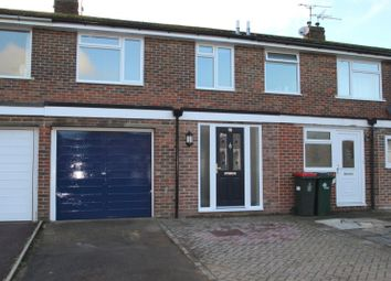 Thumbnail 3 bed terraced house to rent in Saunders Close, Crawley