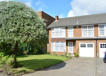 Thumbnail 4 bed end terrace house for sale in Highridge Close, Epsom