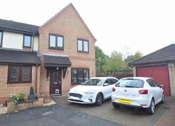 Thumbnail 3 bed semi-detached house for sale in Drovers End, Fleet