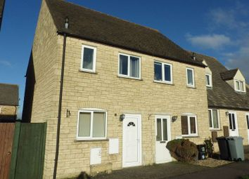 Thumbnail 3 bedroom semi-detached house to rent in Pembroke Place, Bampton, Oxfordshire
