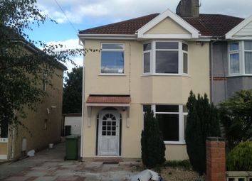 Thumbnail 3 bed semi-detached house to rent in Anchor Road, Kingswood, Bristol