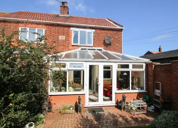 Thumbnail 3 bed semi-detached house for sale in Old Chapel Road, Winterton-On-Sea, Great Yarmouth