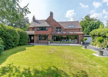 Thumbnail 4 bed detached house for sale in Styal Road, Wilmslow, Cheshire
