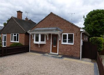 Thumbnail 2 bed bungalow to rent in Six Acres, Broughton Astley, Leicester