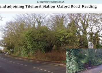 Thumbnail Land for sale in Freehold Land At Oxford Road, Tilehurst, Reading, Berkshire, Size 0.335 Acre, Next To Tile Hurst Station.