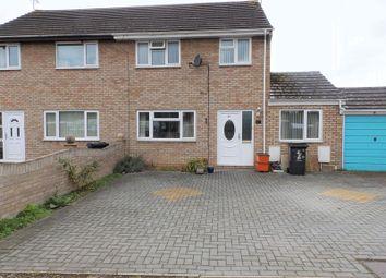Thumbnail 3 bed semi-detached house for sale in Rowan Road, Swindon