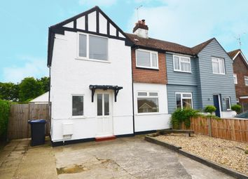 Thumbnail 4 bed semi-detached house to rent in Goodwin Avenue, Whitstable