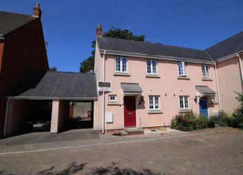 Thumbnail 2 bed semi-detached house for sale in Redvers Way, Tiverton