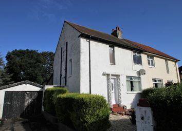Thumbnail 3 bedroom semi-detached house for sale in Greenhead Avenue, Stevenston, North Ayrshire, Ayrshire
