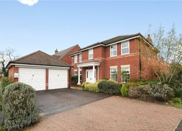 Thumbnail 4 bedroom detached house for sale in Deardon Way, Shinfield, Reading