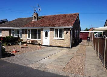 Thumbnail 3 bed semi-detached bungalow for sale in Cranfield Close, Doncaster