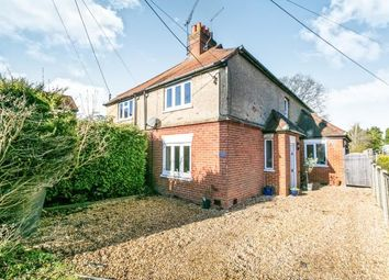 Thumbnail 3 bed semi-detached house for sale in Boundstone, Farnham, Surrey