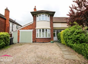 Thumbnail 3 bed semi-detached house for sale in Glenfield Road, Western Park, Leicester