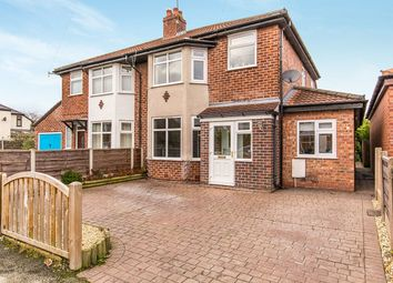 Thumbnail 3 bed semi-detached house for sale in Kingston Road, Handforth, Wilmslow