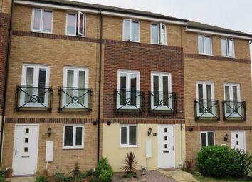 Thumbnail 3 bed town house for sale in Teasel Way, Hampton Centre, Peterborough
