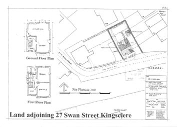 Thumbnail 2 bed detached house for sale in Swan Street, Kingsclere, Newbury, West Berkshire