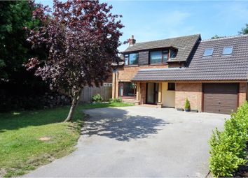 Thumbnail 4 bed detached house for sale in Botley Road, Romsey