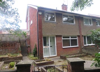 Thumbnail 3 bedroom semi-detached house for sale in Queenwood, Penylan, Cardiff