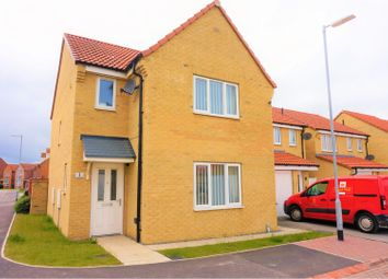 Thumbnail 3 bed detached house for sale in Avocet Close, Hornsea