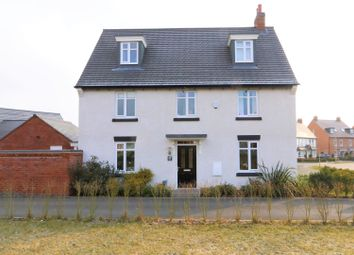 Thumbnail 5 bed detached house for sale in Dunbar Way, Ashby-De-La-Zouch