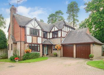 Thumbnail 4 bedroom detached house for sale in Burston Gardens, East Grinstead, West Sussex