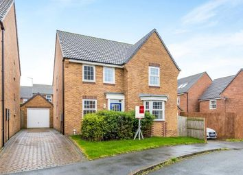 Thumbnail 4 bedroom detached house for sale in Snowgoose Way, Newcastle, Staffordshire, Staffs