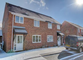 Thumbnail 3 bed semi-detached house for sale in Mill Croft Close, New Costessey, Norwich