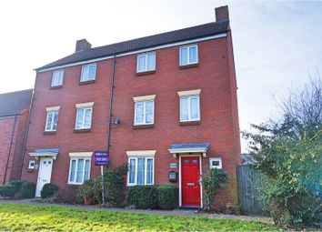 Thumbnail 4 bed semi-detached house for sale in White Eagle Road, Swindon