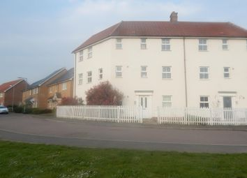 Thumbnail 4 bedroom town house to rent in Pelargonium Drive, Wymondham