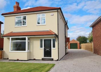 Thumbnail 4 bed detached house for sale in Highfield Road, Bubwith, Selby