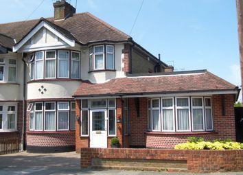 Thumbnail 3 bed semi-detached house for sale in Wellington Road, Bush Hill Park