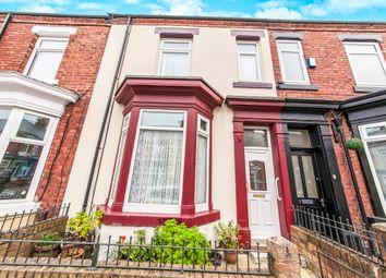 Thumbnail 3 bedroom terraced house for sale in Carlton Street, Hartlepool