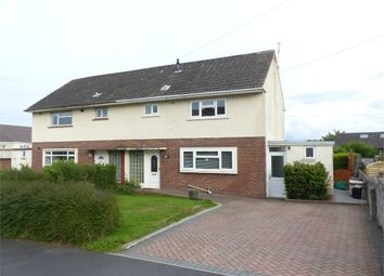 Thumbnail 3 bed semi-detached house for sale in Elizabeth Road, Cefn Glas, Bridgend, Mid Glamorgan