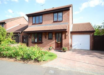 Thumbnail 4 bed detached house for sale in Adwell Drive, Lower Earley, Reading
