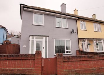 Thumbnail 3 bed end terrace house for sale in Newbolt Road, Cosham, Portsmouth
