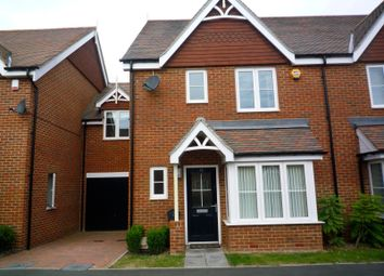 Thumbnail 3 bed terraced house to rent in Shearing Drive, Burgess Hill