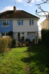 Thumbnail 3 bed semi-detached house to rent in Highfield, Clyst Road, Topsham, Exeter