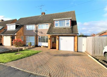 Thumbnail 3 bed semi-detached house for sale in Shenley Road, Wigston, Leicester
