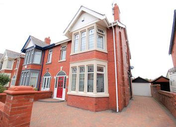 Thumbnail 4 bed semi-detached house for sale in Woodstock Gardens, Blackpool