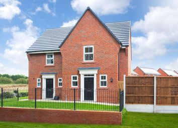 """Thumbnail 2 bed end terrace house for sale in """"Lewington"""" at Hassall Road, Alsager, Stoke-On-Trent"""