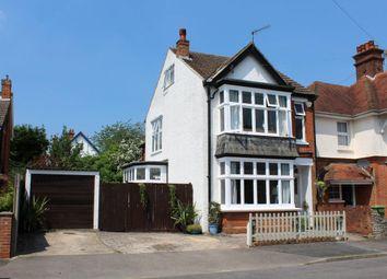 Thumbnail 4 bed detached house for sale in Upper St. Michaels Road, Aldershot