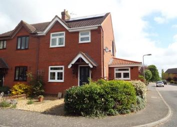 Thumbnail 3 bed semi-detached house for sale in Kitelee Close, Hanslope, Milton Keynes, Bucks