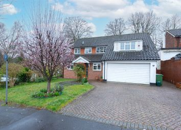 Thumbnail 4 bed detached house for sale in Langley Drive, Camberley