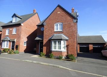 Thumbnail 3 bed detached house for sale in Abbott Drive, Stoney Stanton, Leicester, Leicestershire
