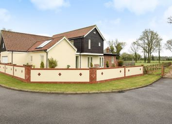 Thumbnail 5 bed detached house for sale in The Meadows, Attleborough