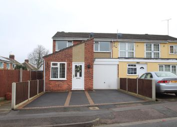 Thumbnail 3 bedroom semi-detached house for sale in Clarefield Road, Western Park, Leicester