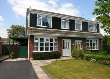 Thumbnail 3 bed semi-detached house to rent in Beckingthorpe Drive, Bottesford, Nottingham