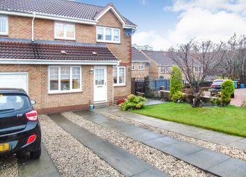 Thumbnail 3 bed semi-detached house for sale in Meadow Walk, Victoria Park, Coatbridge, North Lanarkshire